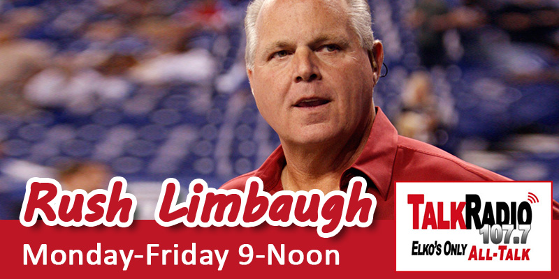 Rush Limbaugh on TalkRadio 107.7 FM