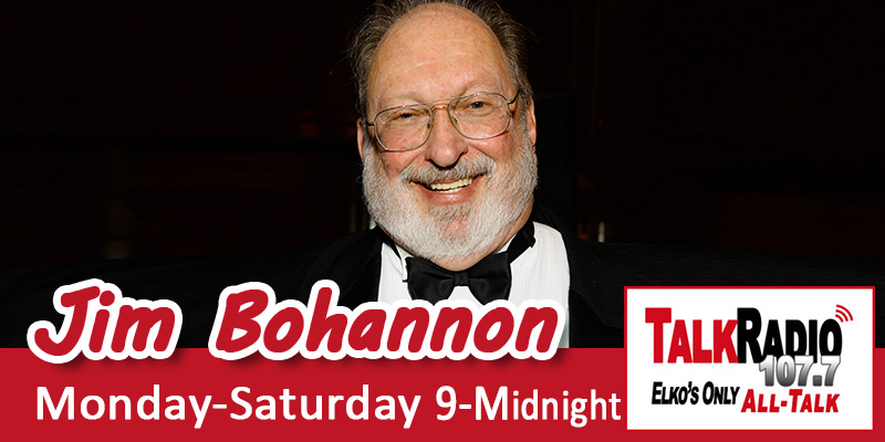 Jim Bohannon on TalkRadio 107.7 FM